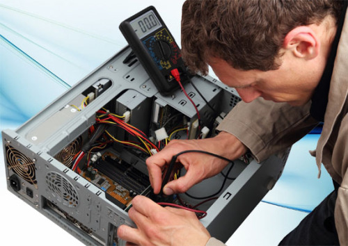 Professinal repairing a PC