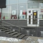 Вход в офисное здание НП ФСЭ г.Красноярск - Жукова