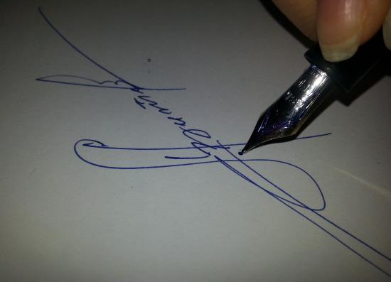 Почерк 2